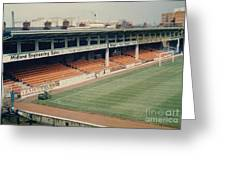 Leicester City - Filbert Street - Filbert Street End 2 - 1970s Greeting Card