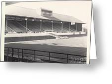 Leicester City - Filbert Street - Main Stand 1 - Bw - 1960s Greeting Card
