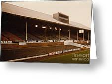 Leicester City - Filbert Street - Main Stand 2 - 1970s Greeting Card
