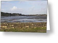 Lelant Water Hayle Estuary Greeting Card
