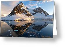 Lemaire Channel Antarctica 133 Greeting Card