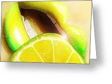 Lemon Greeting Card