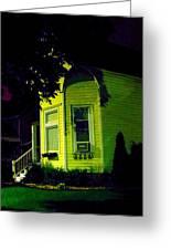 Lemon-drop House Greeting Card by Guy Ricketts