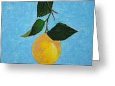 Lemon Drop Greeting Card