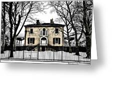 Lemon Hill Mansion - Philadelphia Greeting Card