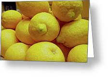 Lemon Squeeze Greeting Card