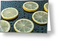 Lemons  Greeting Card