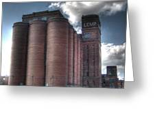 Lemp Brewery Greeting Card