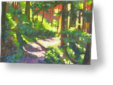 Lena Lake Trail II Greeting Card