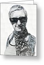 Lena Noble, Portrait Greeting Card
