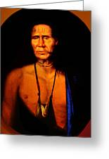 Lenape Chief Greeting Card
