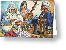 L.endres Maroc Painting Greeting Card
