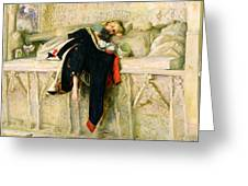 L'enfant Du Regiment Greeting Card by Sir John Everett Millais