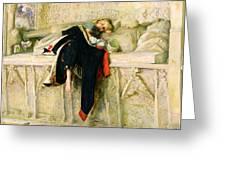 L'enfant Du Regiment Greeting Card by Sir John Everett Millais