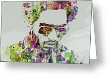 Lenny Kravitz 2 Greeting Card