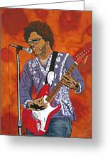 Lenny Kravitz-the Rebirth Of Rock Greeting Card
