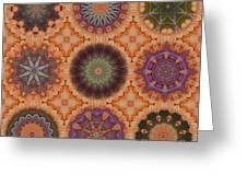 Lentil Purple Cauliflower Medallions Greeting Card