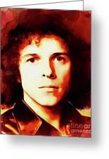 Leo Sayer, Music Legend Greeting Card