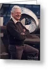 Leon Lederman, American Physicist Greeting Card