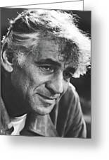 Leonard Bernstein 1970 Greeting Card