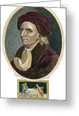 Leonhard Euler, 1707-1783 Greeting Card
