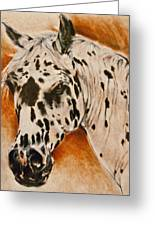 Leopard Appy Greeting Card