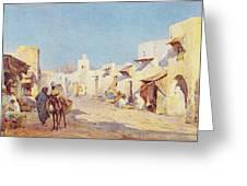 Leopold Carl Muller 1887 Greeting Card