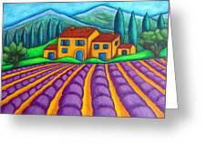 Les Couleurs De Provence Greeting Card