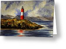 Les Eclaireurs Lighthouse Greeting Card