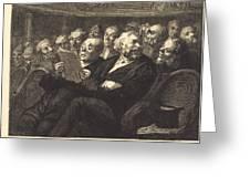 Les Fauteuils D'orchestre Greeting Card