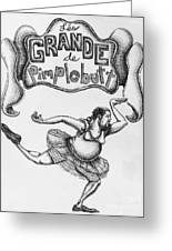 Les Grande De Pimplebutt Greeting Card