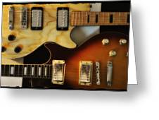 Les Paul - Come Together Greeting Card