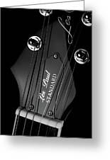 Les Paul Greeting Card