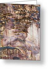 Leslie Gulch Cliff Vertical Greeting Card