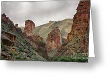 Leslie Gulch Greeting Card