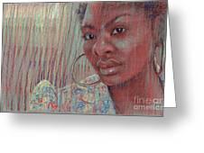 Leslie K Greeting Card