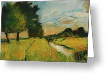 Lesser Ury Greeting Card