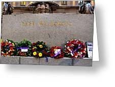 Lest We Forget War Memorial Martin Place Greeting Card