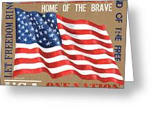 Let Freedom Ring Greeting Card