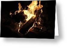 Let It Burn Greeting Card