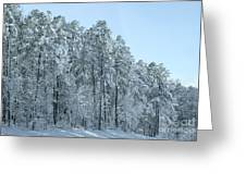 Let It Snow 3 Greeting Card