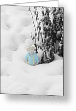 Let It Snow Greeting Card by Al Bourassa