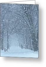 Let It Snow Greeting Card by Lori Frisch