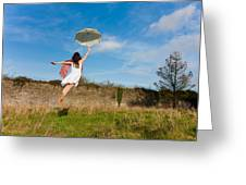 Let The Breeze Guide You Greeting Card by Semmick Photo