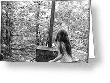 Let The Children Come To Me ... Matthew Nine Fourteen Greeting Card