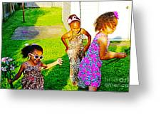 Let The Good Times Roll 1 Greeting Card