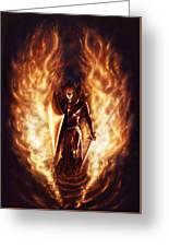 Let The Havens Burn Greeting Card