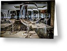 Let The Wine Tasting Begin Greeting Card