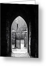 Let There Be Light Cong Church And Abbey Cong Ireland Greeting Card