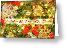 Let There Be Peace On Earth 2 Greeting Card